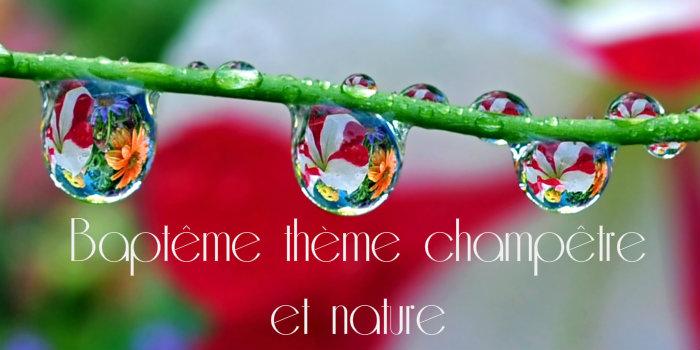 Décoration champetre et nature